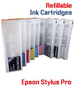 Refillable Ink Cartridges Epson Stylus Pro Printers