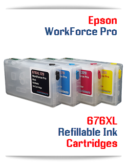 Refillable Ink Cartridges Epson WorkForce Pro printers