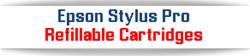Epson Stylus Pro Refillable Ink Cartridges