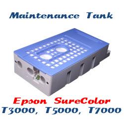 Maintenance Tank Epson SureColor T3000, T5000, T7000 Printers
