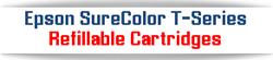 Epson SureColor T-Series Refillable Ink Cartridges