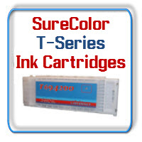 Epson SureColor T3000, T5000, T7000 printern Ink Cartridges and Maintenance Tanks