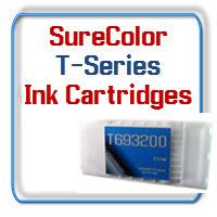 Epson SureColor T3000, T5000, T7000 printern Ink Cartridges and Maintenance Tanks