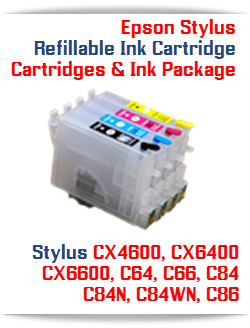 Epson Stylus Refillable Ink Cartridges