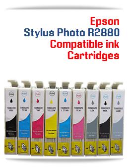 Epson Stylus Photo R2880 compatible ink cartridges