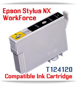 Epson T124120 Black Stylus NX, WorkForce Compatible Printer Ink Cartridge