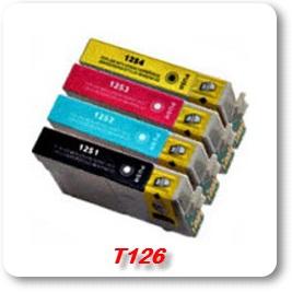 T126 epson compatible ink cartridges