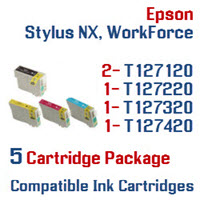5 Cartridge Package T127