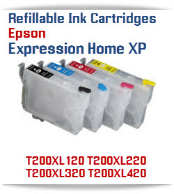 Refillable Ink Cartridges Epson Expression Home XP