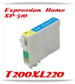 T200XL220 Cyan Epson Compatible Ink Cartridge