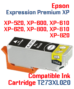 T273XL020 Black High-capacity Expression Premium XP Compatible Ink Cartridge