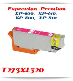 T273XL320 Magenta Epson Expression Premium XP-610 Printer ink cartridge