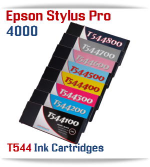 7 Cartridge Package Epson Stylus Pro 4000