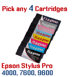 Pick 4 Cartridges $99.95