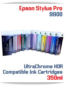 Epson Stylus Pro UltraChrome Compatible Ink Cartridge 700ml