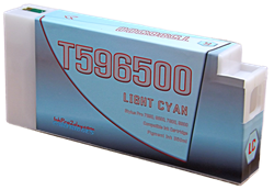 T596500 Light Cyan Epson Stylus Pro Ink Cartridge