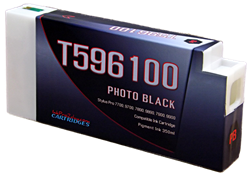 T596100 Photo Black Epson Stylus Pro Ink Cartridge