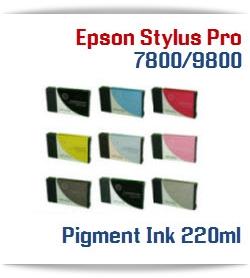 Epson Stylus Pro 7800, 9800 Compatible Ink Cartridges