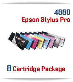 8 Cartridge Package Epson Stylus Pro 4880