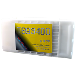 Yellow T693400 EPSON SureColor T3000, T5000, T7000, T3270, T5270, T7270, T5270D, T7270D UltraChrome Pigment XD Ink Cartridge 350ml