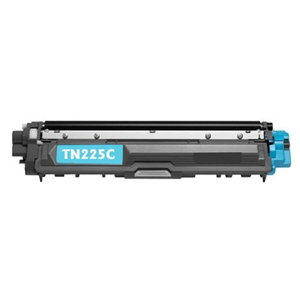 TN225C Cyan Brother Compatible Toner Cartridge - Works with:  HL Printers: HL-3140CW, HL-3170CDW, MFC MultiFunction Printers: MFC-9130CW, MFC-9330CDW, MFC-9340CDW