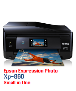 Epson Expression Photo XP-860 Small in One printer