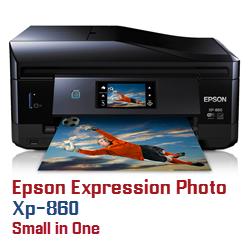 Epson Expression Photo XP printer ink cartridges