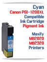 Cyan PGI-1200XL Compatible Ink Cartridge Canon Maxify MB2020, MB2320 printers