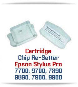 Chip Re-Setter Epson Stylus Pro 7700/9700, 7890/9890,7900/9900 Printer Cartridges