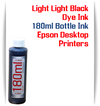 Light Light Black 180ml Dye Ink for Epson Printers