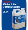 Cyan 1000ml Dye Bottle Ink Epson Stylus Pro Printers