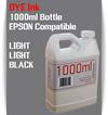 Light Light Black 1000ml Dye Bottle Ink Epson Stylus Pro Printers