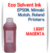 Light Magenta Eco Solvent Ink 1000ml bottle ink - EPSON, Roland, Mimaki, Mutoh printers