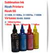 RICOH 4 Color 100ml Sublimation Ink