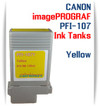 PFI-107Y Yellow Canon imagePROGRAF Compatible Dye Printer Ink Tank 130ml