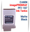 PFI-107MBK Matte Black Canon Compatible Pigment Printer Ink Tank 130ml