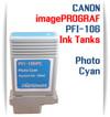 Photo Cyan PFI-106 Canon imagePROGRAF Compatible Pigment Ink Tanks 130ml