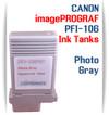 Photo Gray PFI-106 Canon imagePROGRAF Compatible Pigment Ink Tanks 130ml