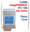 Photo Cyan PFI-106 Canon imagePROGRAF Compatible Pigment Ink Tanks 130ml