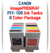 8 - PFI-106 Canon imagePROGRAF Compatible Pigment Ink Tanks 130ml