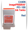 Red PFI-106 Canon imagePROGRAF Compatible Pigment Ink Tanks 130ml