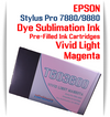 Vivid Light Magenta Epson Stylus Pro 7880/9880 Pre-Filled with Dye Sublimation Ink Cartridge 220ml
