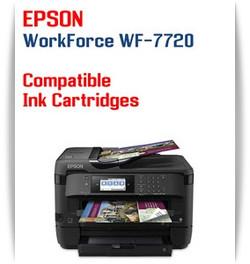 Epson WorkForce WF-7720 printer compatible ink cartridges