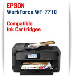 Epson WorkForce WF-7710 printer compatible ink cartridges