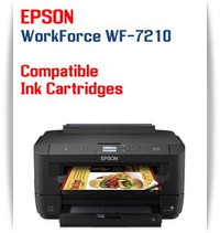 Epson WorkForce WF-7210 printer compatible ink cartridges