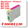 T200XL320 Magenta Epson WorkForce WF Inkjet Printer Compatible Ink Cartridges