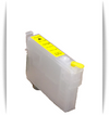 Yellow Epson Artisan 1430 printer refillable ink cartridge