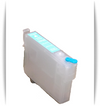 Light Cyan Epson Artisan 1430 printer refillable ink cartridge