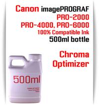 Chroma Optimizer 500ml bottle Canon imagePROGRAF PRO printers  CANON imagePROGRAF PRO-500, PRO-520, PRO-540, PRO-560, PRO-1000, PRO-2000, PRO-4000, PRO-6000 printers