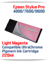 T544600 Light Magenta Epson Stylus Pro 7600/9600 Compatible Pigment Ink Cartridges 220ml